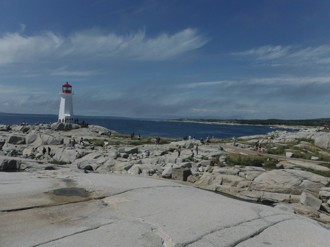 On vacation visiting Peggy's Cove Peggy's Cove, Nova Scotia Canada