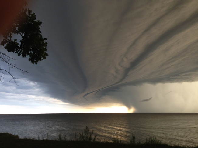 Grand Beach Storm Winnipeg, Manitoba Canada