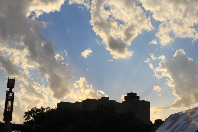 Clouds Over The Forks Winnipeg, Manitoba Canada
