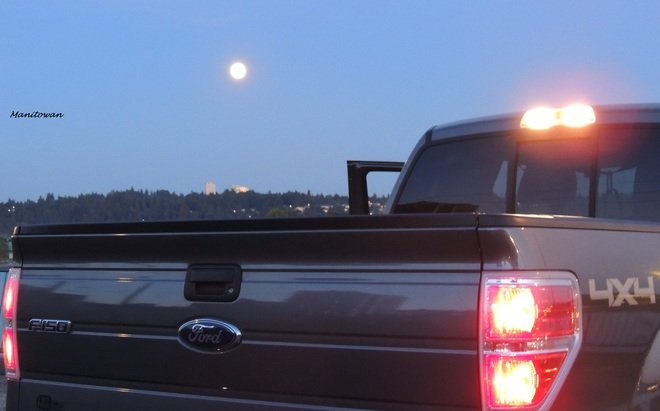 Pick Up A Blue Moon New Westminster, British Columbia Canada