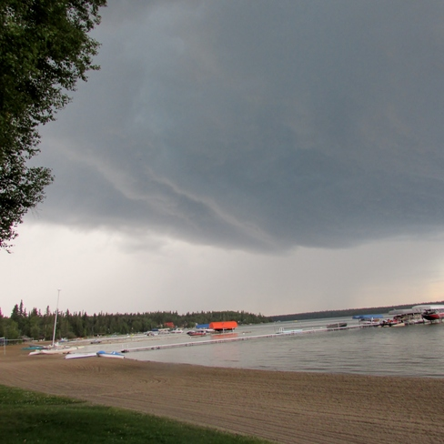 Summer Storm Christopher Lake, Saskatchewan Canada