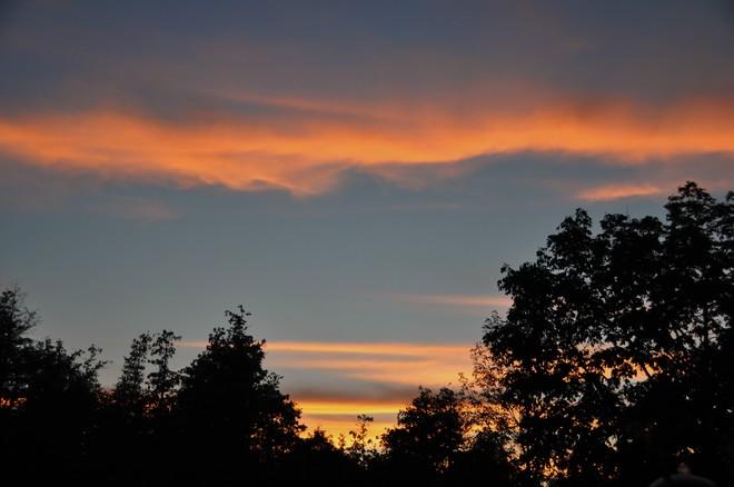 Sunset Aug 22 Smiths Falls, Ontario Canada