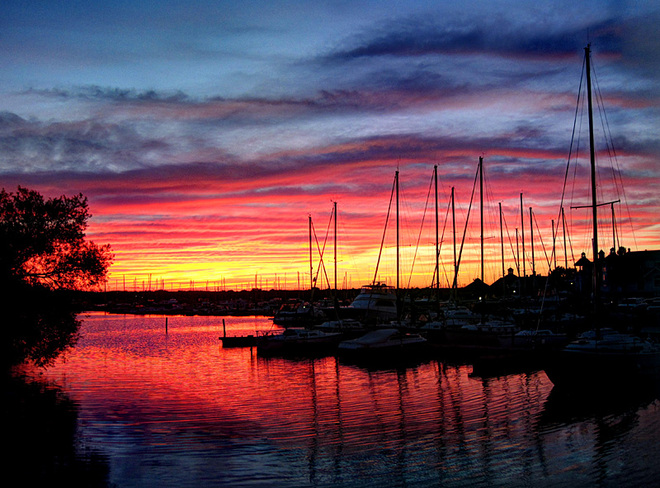Frenchmans Bay Sunset Pickering, Ontario Canada