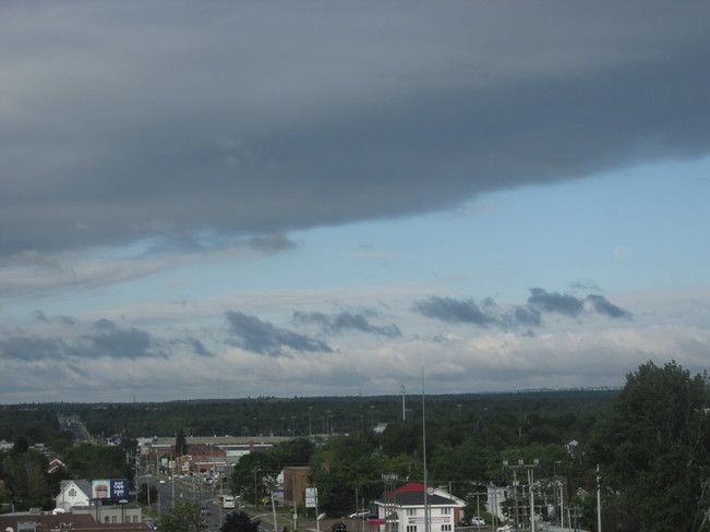 Heavy cloud over Moncton this am Moncton, New Brunswick Canada