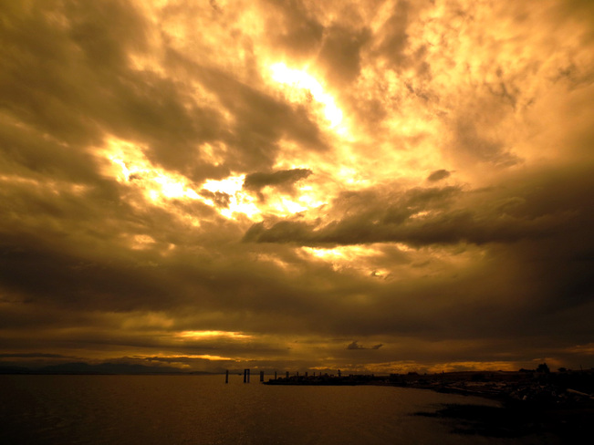 Heaven's Sake, this is a Biblical Sky Richmond, British Columbia Canada