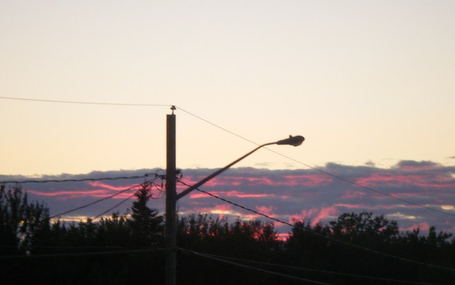 colorful sunset Moncton, New Brunswick Canada