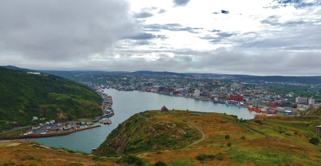 View of St. John's Harbour. St. John's, Newfoundland and Labrador Canada