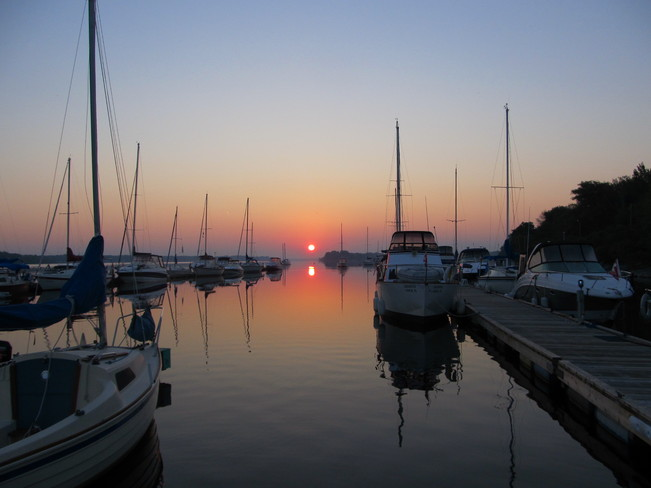 Sunrise At the Rockcliffe Yacht Club Ottawa Ontario Ottawa, Ontario Canada