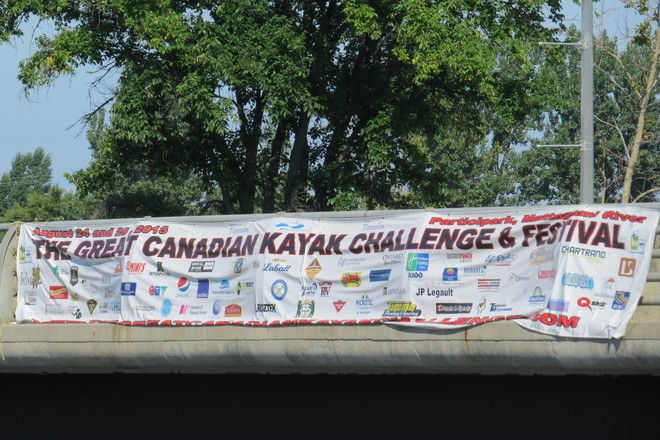 Canadian Kayak challenge Timmins, Ontario Canada