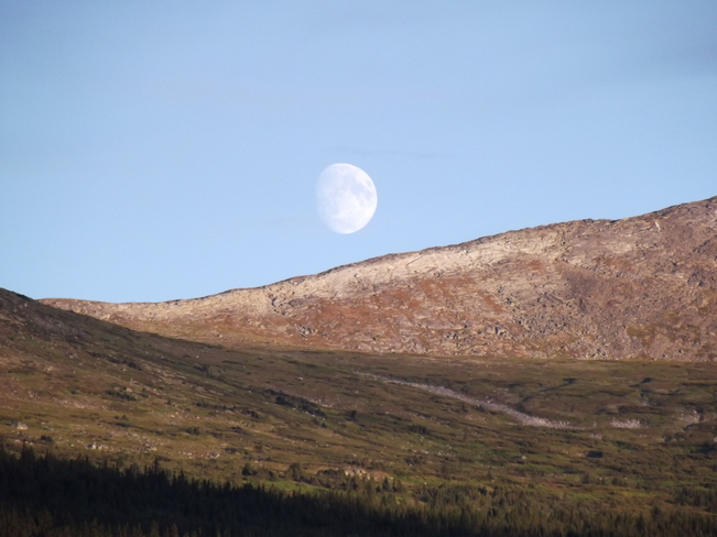 moon Whitehorse, Yukon Canada