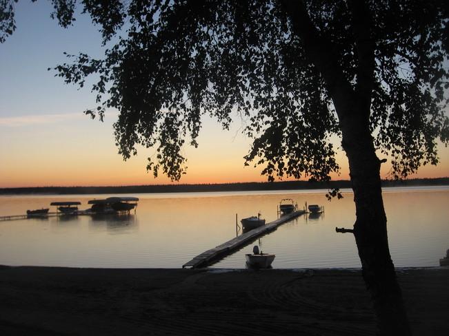 Sunrise Christopher Lake, Saskatchewan Canada