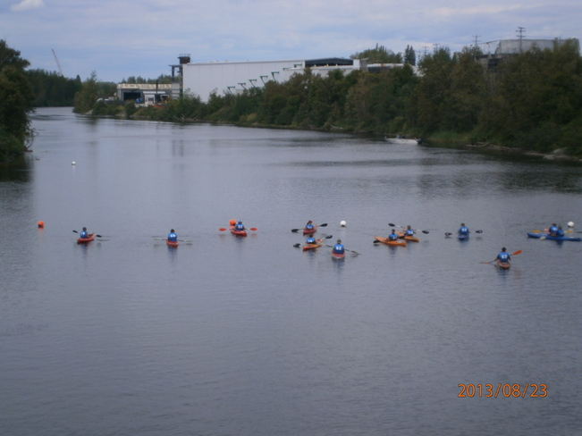 Mattagami River at is best Timmins, Ontario Canada