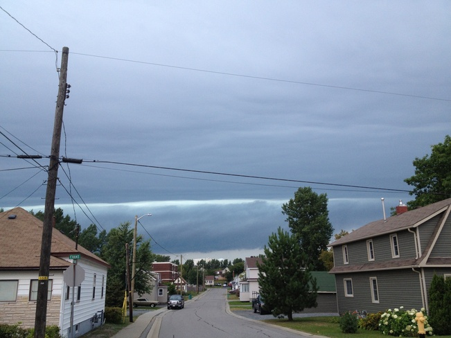 There's a storm coming! Copper Cliff, Ontario Canada