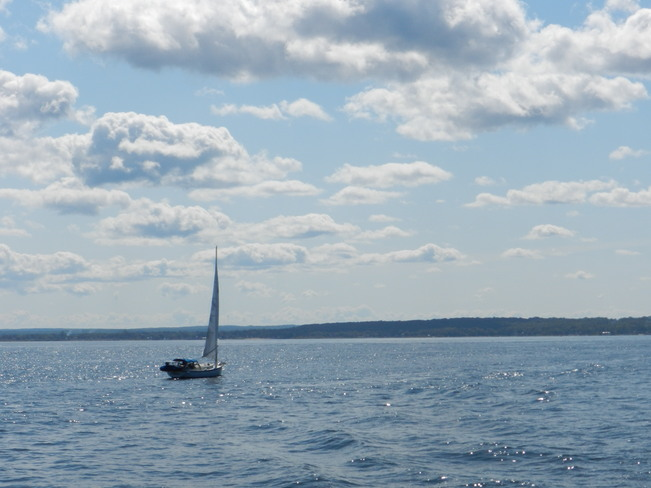 Beautiful Day for a Sail Midland, Ontario Canada