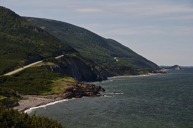 Cabot Trail Chéticamp, Nova Scotia Canada