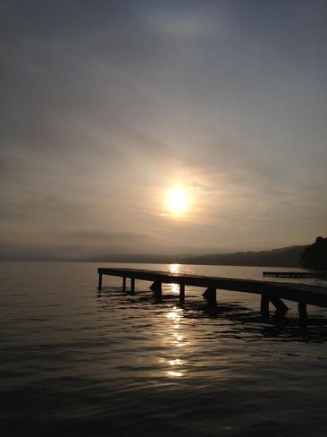 sunrise Mississagi River 8, Ontario Canada