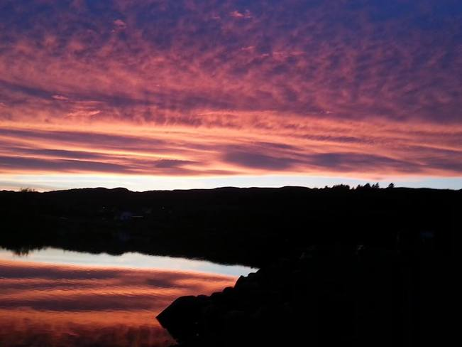 Sunset at the sands Salmon Cove, Newfoundland and Labrador Canada