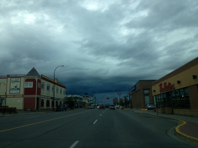 Ominous Clouds Whitehorse, Yukon Canada