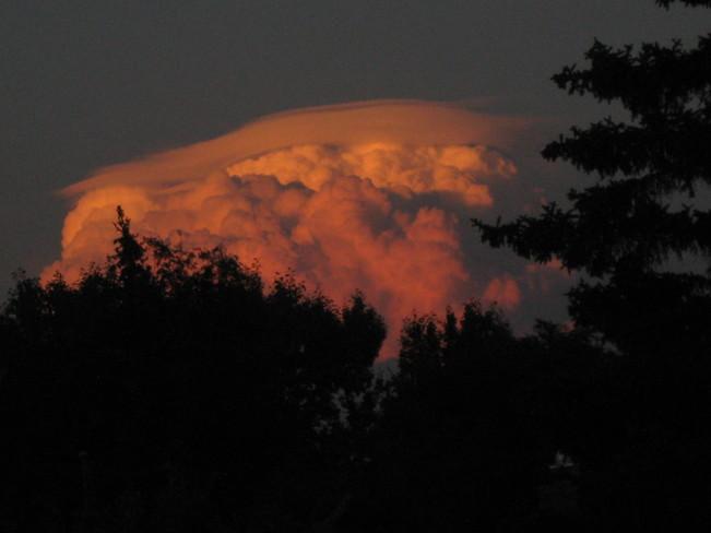 clouds Regina, Saskatchewan Canada