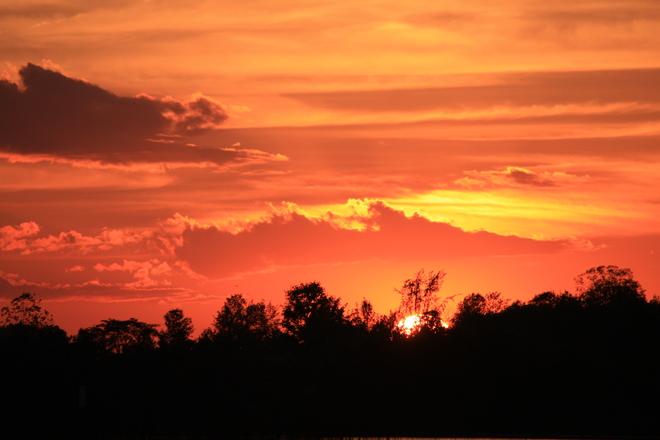 Sunset Clifford, Ontario Canada