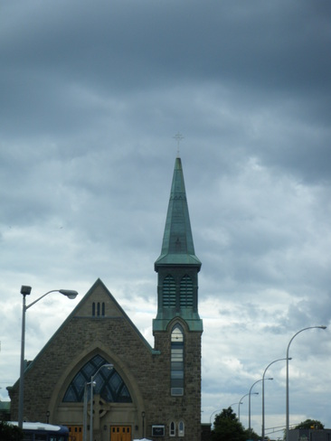 dark clouds but no rain...yet Moncton, New Brunswick Canada