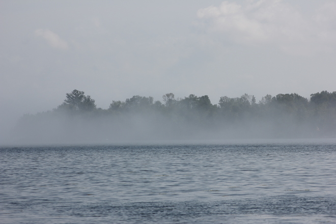 Morning Mist Rideau Lakes, Ontario Canada