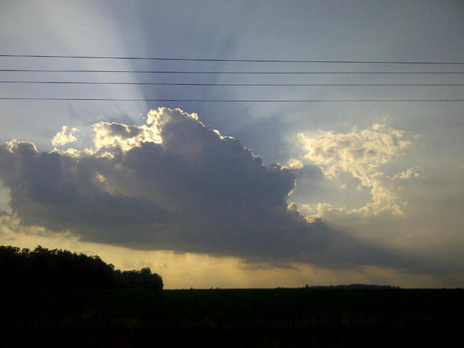 Clouds and sunshine! Wellesley, Ontario Canada