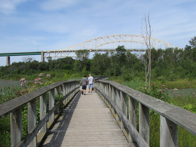 White fish island walk Sault Ste. Marie, Ontario Canada