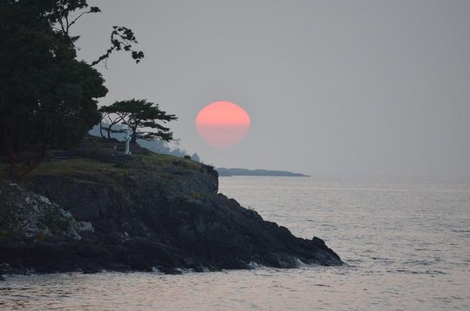 Sunset Nanoose Bay, British Columbia Canada