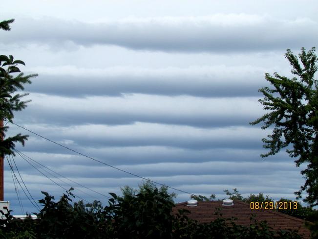 clouds Vernon, British Columbia Canada
