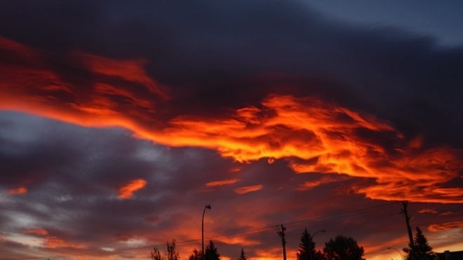 Sunrise Aug 27, Airdrie, AB Airdrie, Alberta Canada