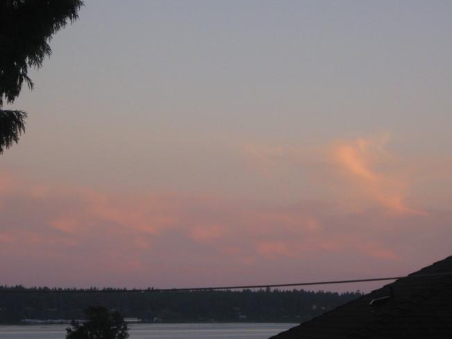 evening Surrey, British Columbia Canada