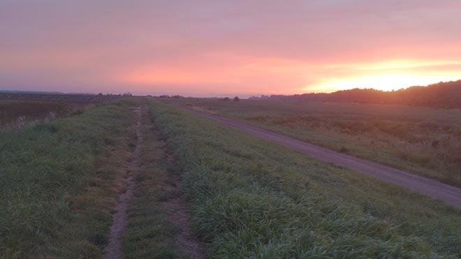 sunrise delight Wolfville, Nova Scotia Canada
