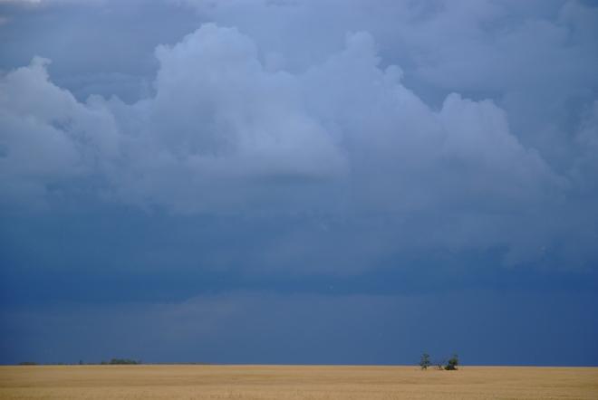 Deflected Storm Leduc, Alberta Canada