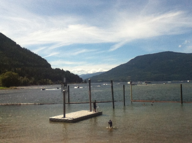 Great Day at Sicamous Beach! Sicamous, British Columbia Canada