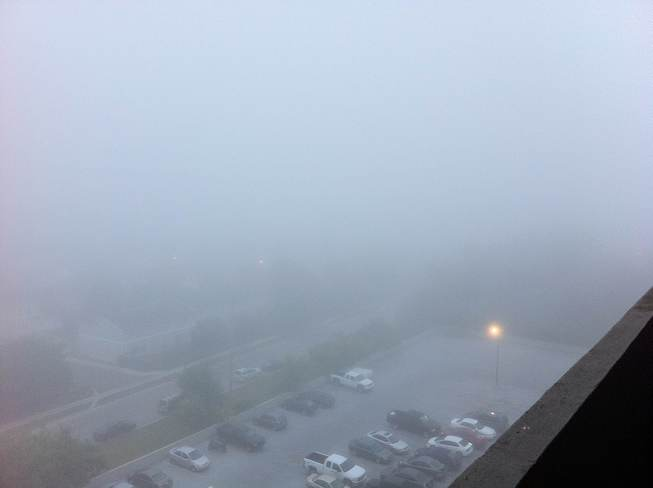 Morning fog London, Ontario Canada
