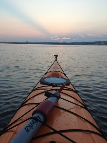 Sunset Kayak Thunder Bay, Ontario Canada