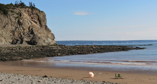 Late Afternoon at Cape Enrage Alma, New Brunswick Canada