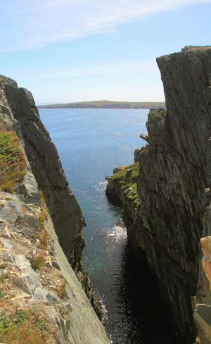 Very deep gorge. Bay Roberts, Newfoundland and Labrador Canada