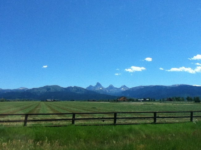 My Trip To The Grand Tetons West Yellowstone, Montana United States