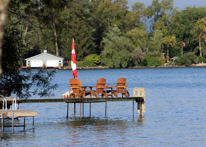 Time to relax Jacksons Point, Ontario Canada