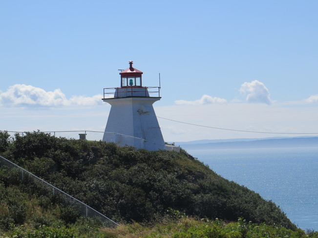 lighthouse in Cape Enrage