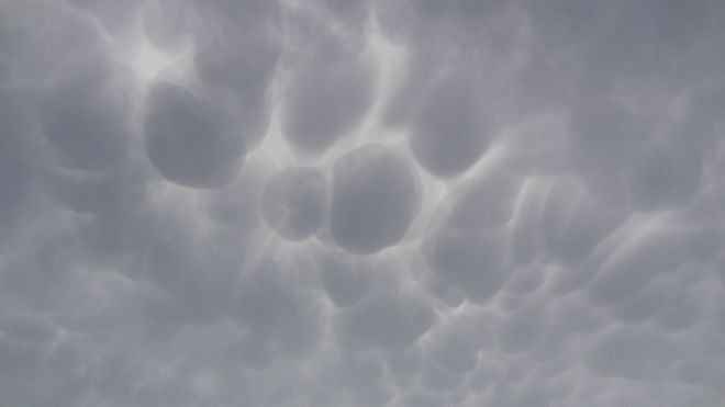 Clouds over Marshville Heritage Festival Wainfleet, Ontario Canada