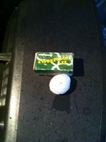 nasty sized hail stones 108 Mile Ranch, British Columbia Canada