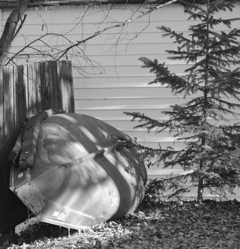 my backyard Garson, Ontario Canada