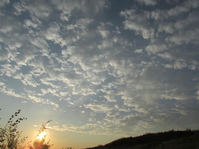 Morning Cloud Calgary, Alberta Canada