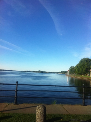 st.lawrence river Brockville, Ontario Canada