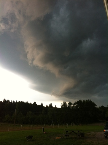 Storm Approaching Dryden, Ontario Canada