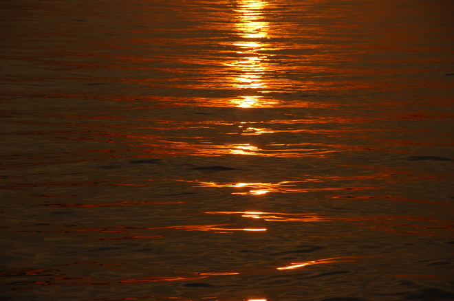 Sunset on the Water Whitby, Ontario Canada