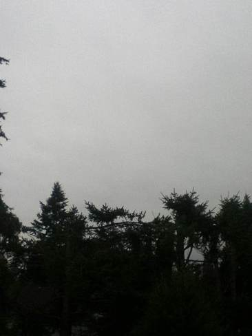 cloudy day Colwood, British Columbia Canada
